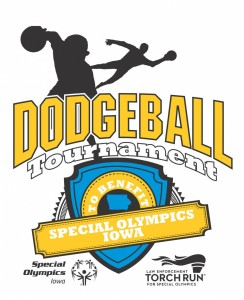 Special Olympics Iowa - Dodgeball Tournament 2016 WHITE NO DATE