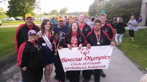 Hayes joins athletes from her hometown of Marshalltown.