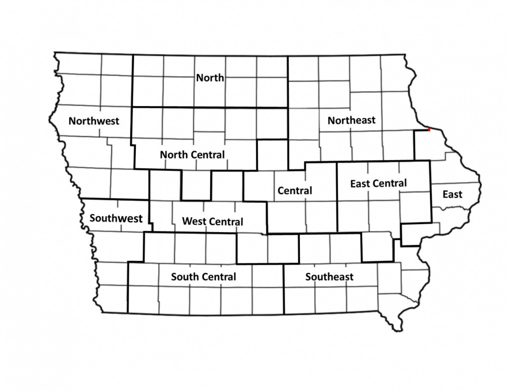 Area Map for Website without counties listed no regions